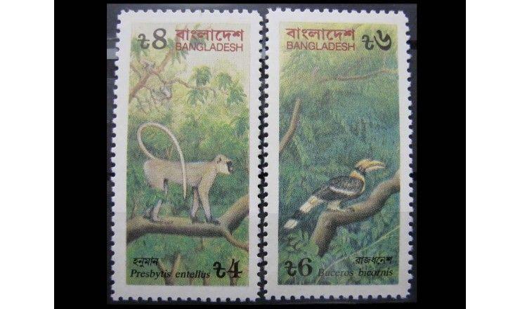 """Бангладеш 1991 г. """"Опасные животные"""""""