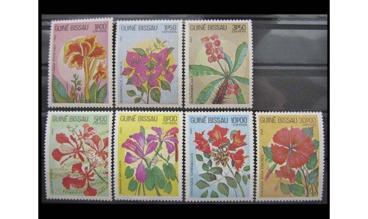 "Гвинея-Бисау 1983 г. ""Цветы"""