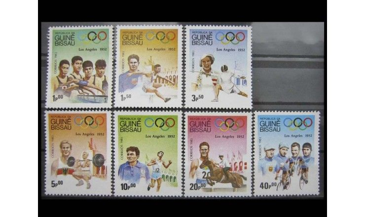 "Гвинея-Бисау 1983 г. ""Олимпийские игры 1932, Лос-Анджелес"""
