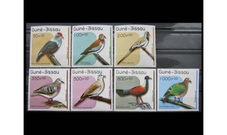 """Гвинея-Бисау 1989 г. """"Голуби"""""""
