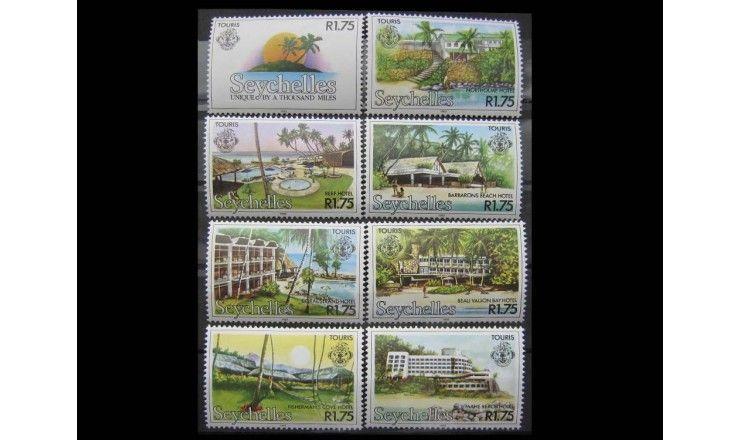 """Сейшельские Острова 1982 г. """"Туризм"""""""