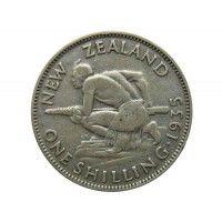 Новая Зеландия 1 шиллинг 1935 г.