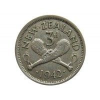 Новая Зеландия 3 пенса 1942 г.