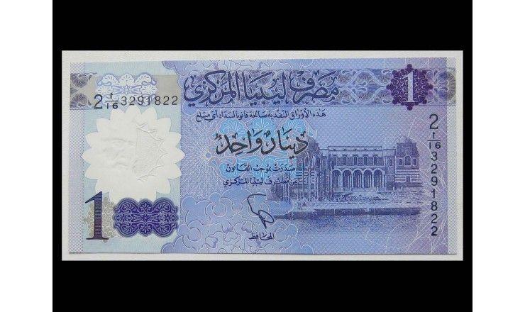 Ливия 1 динар 2019 г.