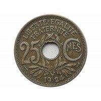 Франция 25 сантимов 1924 г.