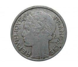 Франция 1 франк 1957 г.