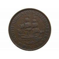Южная Африка 1 пенни 1928 г.