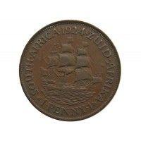 Южная Африка 1 пенни 1924 г.