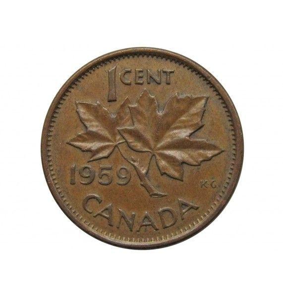 Канада 1 цент 1959 г.