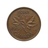 Канада 1 цент 1955 г.