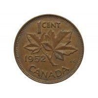 Канада 1 цент 1952 г.