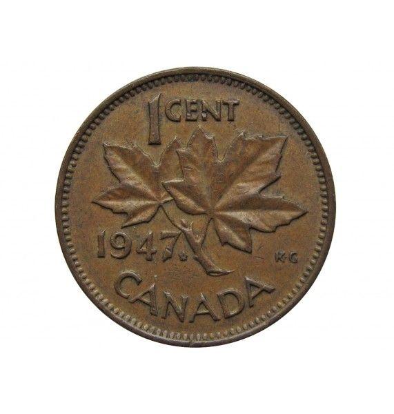 Канада 1 цент 1947 г. (лист)