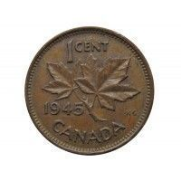 Канада 1 цент 1945 г.