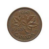 Канада 1 цент 1943 г.