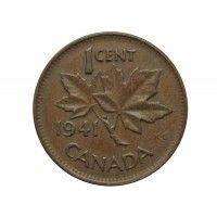 Канада 1 цент 1941 г.