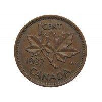 Канада 1 цент 1937 г.