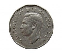 Канада 5 центов 1949 г.