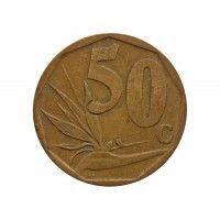 Южная Африка 50 центов 2010 г.