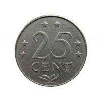 Нидерландские Антиллы 25 центов 1971 г.