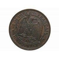 Франция 1 сантим 1853 г. A