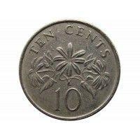 Сингапур 10 центов 1989 г.