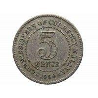 Малайя 5 центов 1950 г.