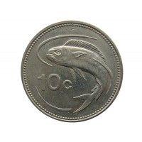 Мальта 10 центов 1991 г.