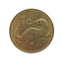 Мальта 1 цент 1991 г.