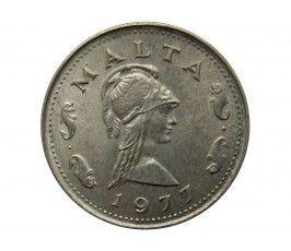 Мальта 2 цента 1977 г.