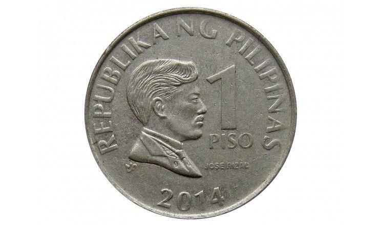 Филиппины 1 песо 2014 г.