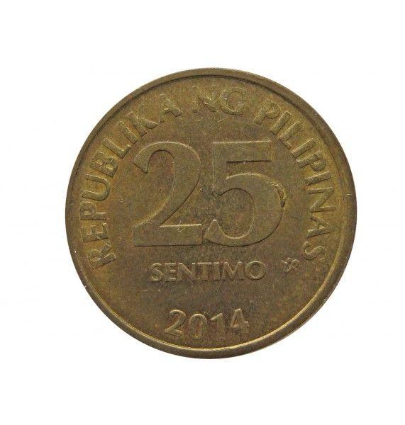 Филиппины 25 сентимо 2014 г.