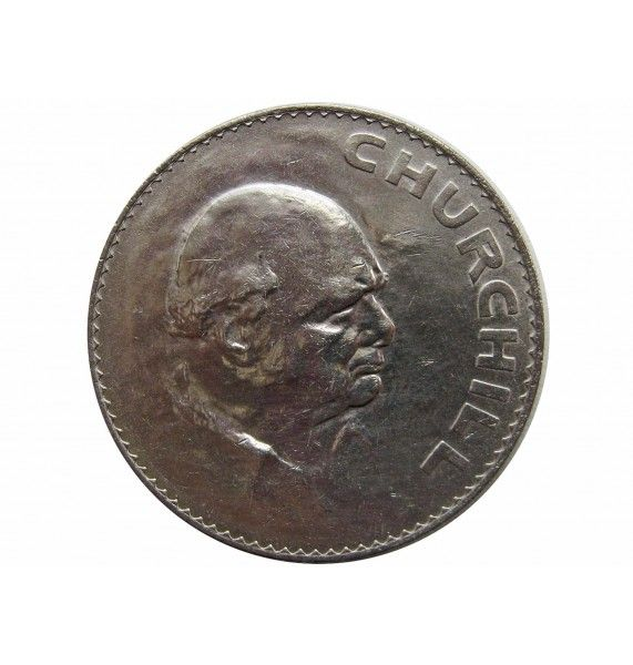 Великобритания 1 крона 1965 г. (Cэр Уинстон Черчилль)