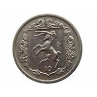 Остров Мэн 10 пенсов 1985 г. АA