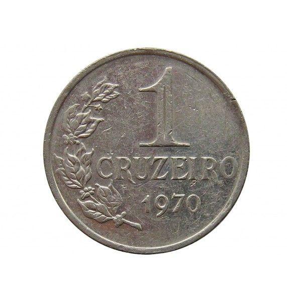 Бразилия 1 крузейро 1970 г.
