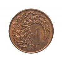 Новая Зеландия 1 цент 1967 г.