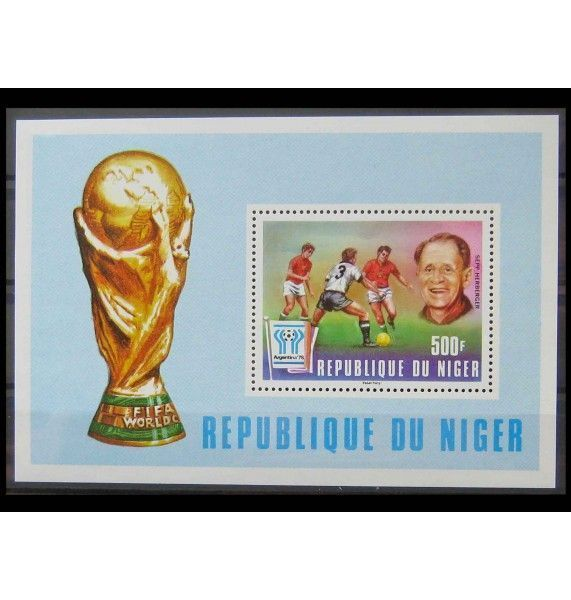"Нигер 1977 г. ""Чемпионат мира по футболу 1978, Аргентина"""