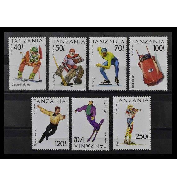 """Танзания 1994 г. """"Зимние Олимпийские игры, Лиллехаммер"""""""