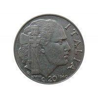 Италия 20 чентезимо 1940 г. (магнитная)