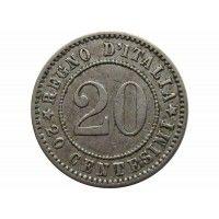 Италия 20 чентезимо 1894 г.