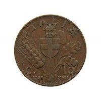 Италия 10 чентезимо 1939 г.