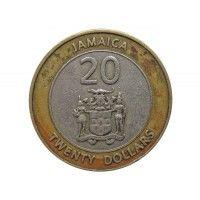 Ямайка 20 долларов 2000 г.