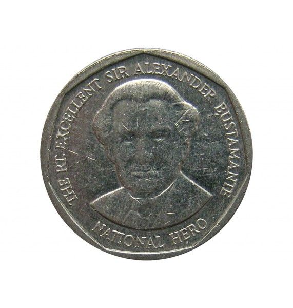 Ямайка 1 доллар 2015 г.