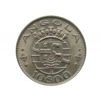 Ангола 10 эскудо 1970 г.