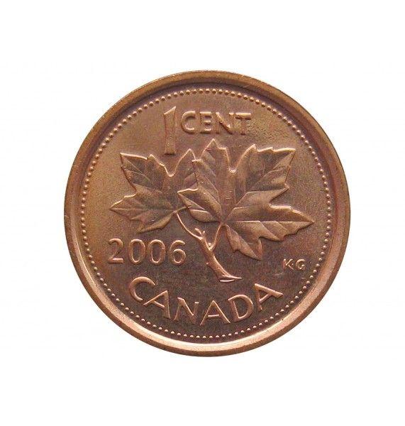 Канада 1 цент 2006 г.