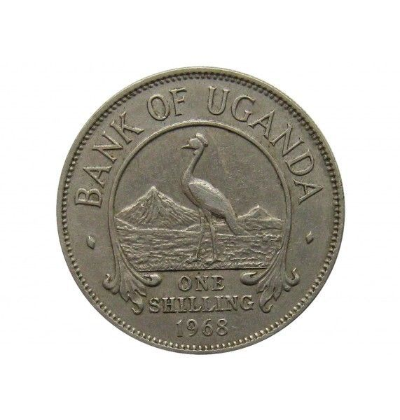 Уганда 1 шиллинг 1968 г.