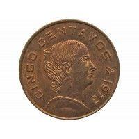 Мексика 5 сентаво 1973 г.