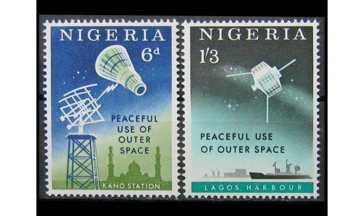 """Нигерия 1963 г. """"Исследование космоса"""""""