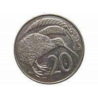 Новая Зеландия 20 центов 1988 г.