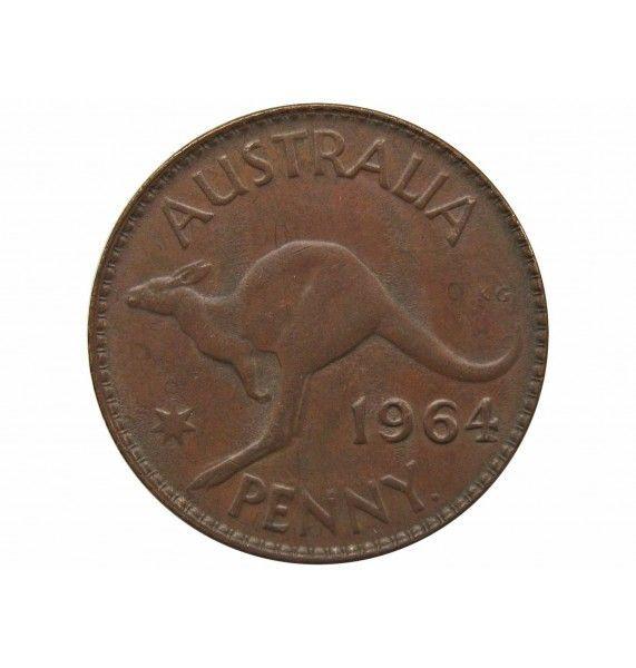 Австралия 1 пенни 1964 г.