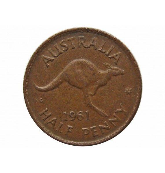 Австралия 1/2 пенни 1961 г.